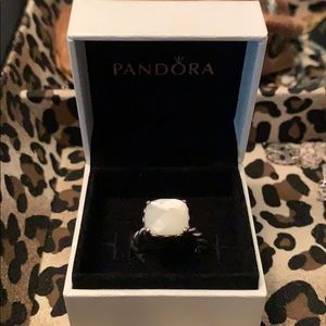 Pandora white pearl ring!